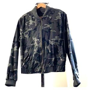 Young ladies size small camouflage jacket